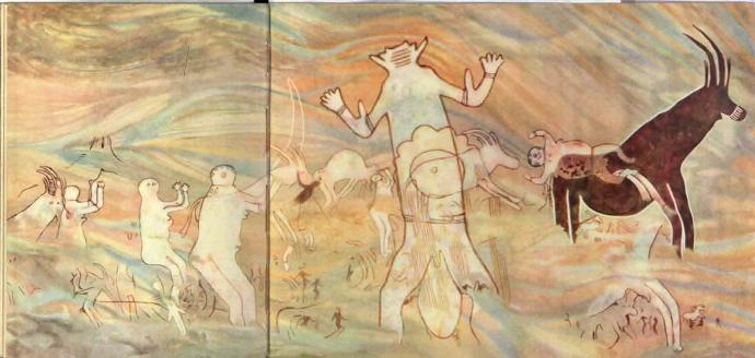 Marsmenschen in der Sahara? – Die Felsbilder von Tassili