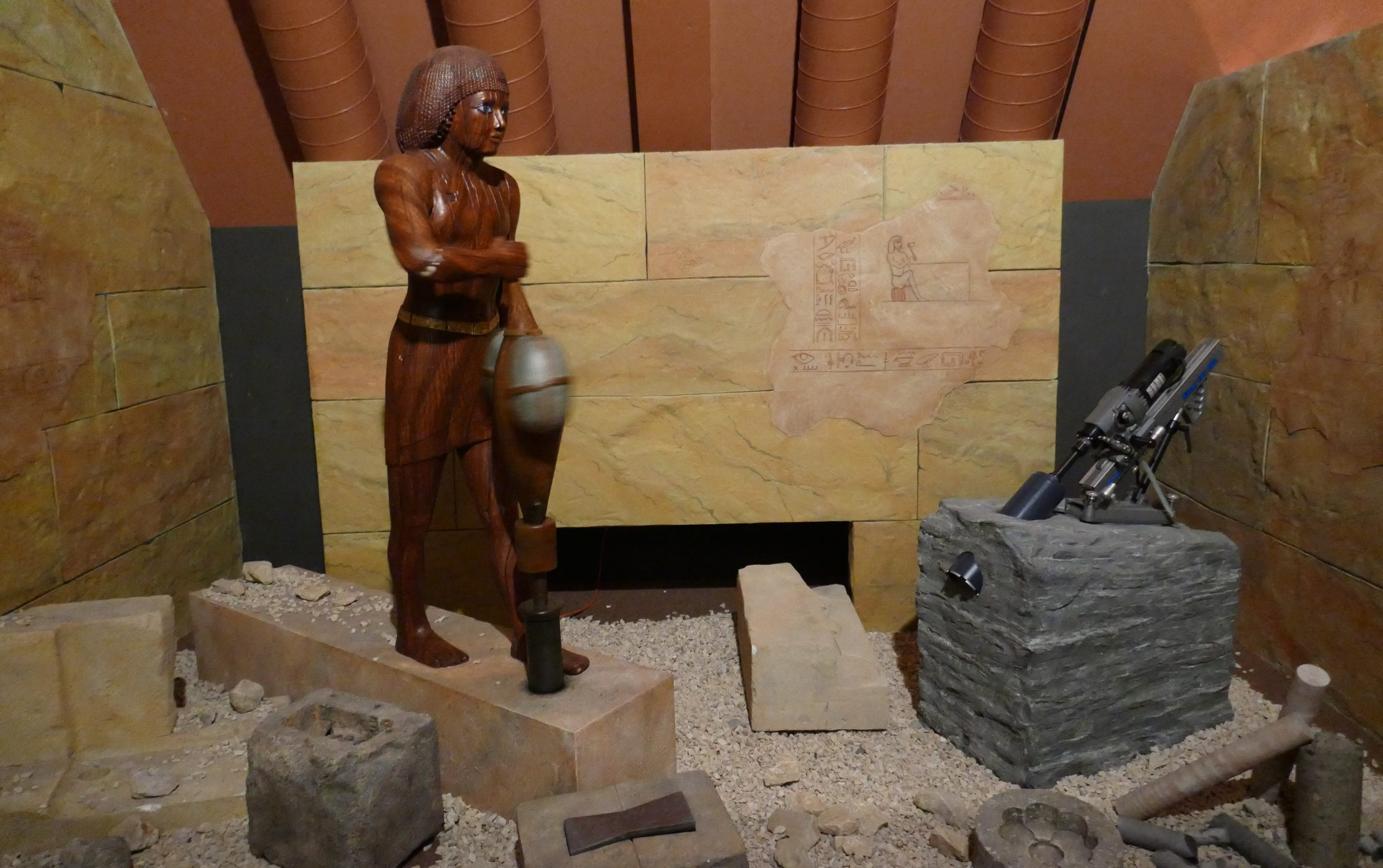 Kernbohrungen im Alten Ägypten